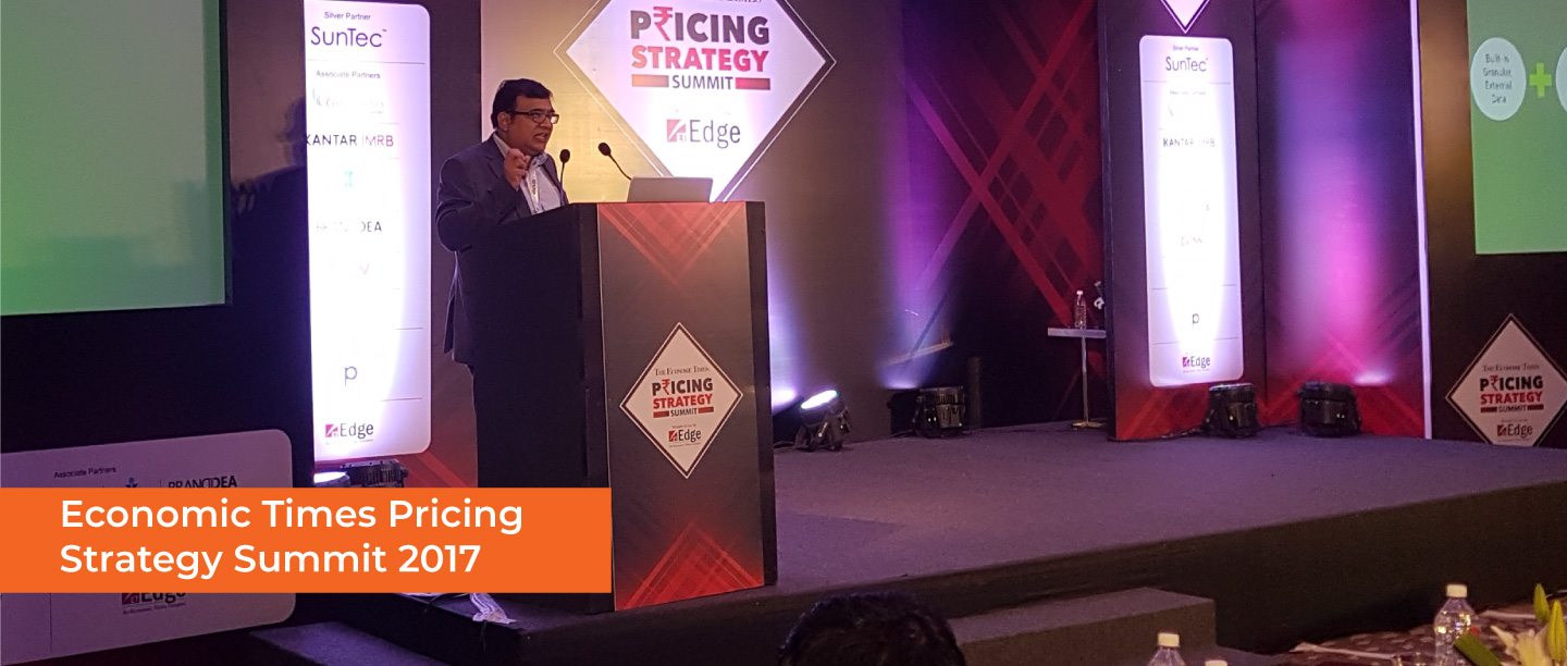 Economic Times Pricing Strategy Summit-2017
