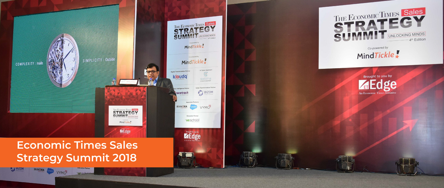 Economic Times Sales Strategy Summit-2018