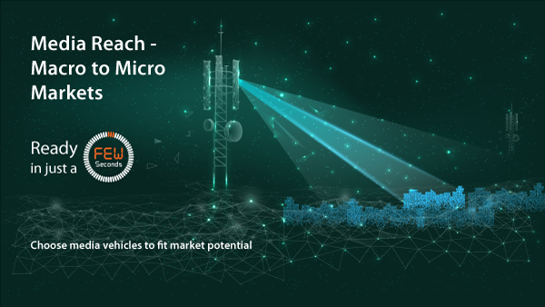 Media Reach Macro to Micro Markets