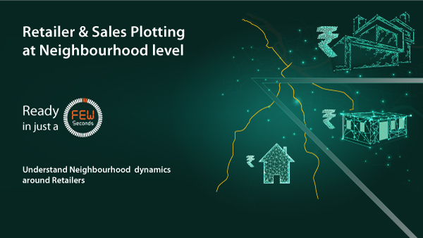 Retailer & Sales Plotting Neighbourhood level