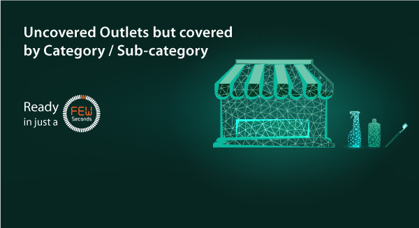 Uncovered Outlets but covered by Category / Sub-category